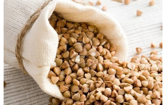 Buckwheat in Small Sack