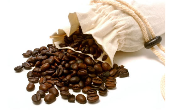 Coffee Beans & Sack